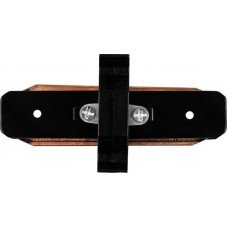 Коннектор прямой для шинопровода однофазного, черный  LD1000 FERON
