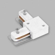 Коннектор угловой для шинопровода однофазного, белый  LD1001 FERON