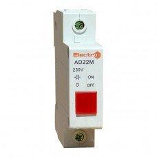 Индикатор модульный (светодиод) 220v желтый  (ElectrO TM)