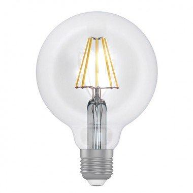 Лампа светодиодная D95  8W GL LG- 6F Е27 3000 проз. Rf (ELECTRUM} - описание, характеристики, отзывы