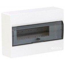 Hager COSMOS Щит з/у с прозрачными дверцами 10 мод.