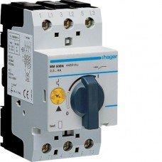 Автоматический выключатель для защиты двигателя, Iуставки=2,4-4,0 А, 2,5М Hager