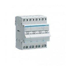 Переключатель І-О-ІІ трехпозиционный SFT440, 4-полюсный 40А/400 В, 3м, Hager