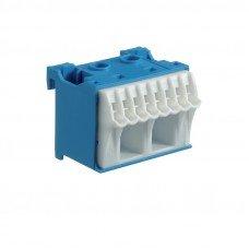 Hager Блок N-клемм, количество единиц делений - 1,5; ширина - 45мм, Hager