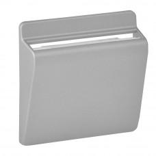 Valena LIFE / ALLURE Клавиша выключателя карточного Алюминий