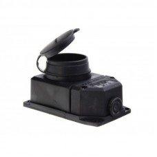 Розетка настенная каучуковая с заземлением,MUT-29/6 1X16A, Mutlusan