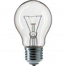 Лампа PHILIPS A-55 обыкновенная прозрачная 100w Е-27