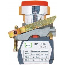 Выключатель кнопочный ВК-011 НЦВК 13 (красная)