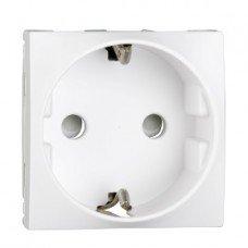 Розетка 2P+E со шторками белаяALTIRA, Schneider electric
