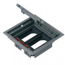 Лючок 199Х199 на 4 модуля 45Х45 ALTIRA пластик, Schneider electric