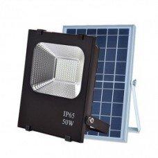 Прожектор с солнечной батареей VARGO 50W с пультом (VS-322) IP66