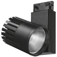 AL105 Светильник трековый COB 40W 3600LM 4000K IP40 черный 215*95*220 мм  FERON
